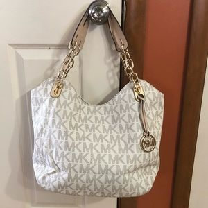 Michael Kors Vanilla satchel, large